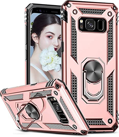 Leyi Hülle Für Samsung Galaxy S8 Plus Handyhülle 360 Elektronik