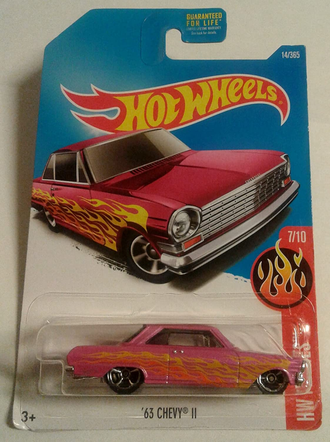 Hot Wheels 63 Chevy 11 Red