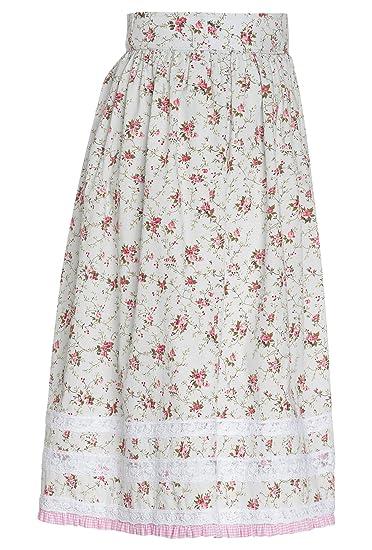 Damenrock CARLA mit Blumen%2c Tracht Sommer-Kleid%2cTrachten%2ctrachtlich%2cBlumen%2cDamen mint-rosa%2c36 Distler VRFiFbwC