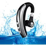Bluetooth Headset,MLcoco Hands Free Wireless Earpiece 4.1 HD Stereo Earbuds with Lightweight and Noise Reduction Earphones for Business/Travel/Sports/Driver Adapting to iPhone Android Cell Phones