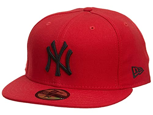 9151d136d Amazon.com: New Era New York Yankees Fitted Hat Mens Style ...