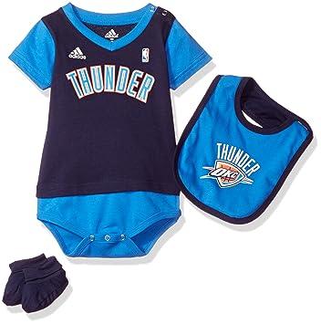 b4c712c35 ScotchBlue NBA Oklahoma City Thunder Boys Creeper Bib and Bootie ...