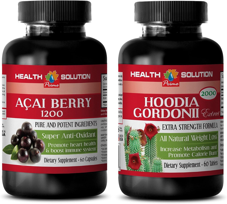 Amazon Com Antioxidant Fruit Blend Acai Berry Hoodia Gordonii
