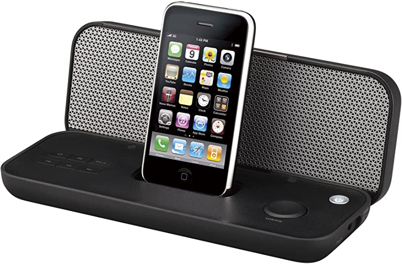 TDK iPod/iPhone対応スピーカー (折りたたみ式) ブラック Xaシリーズ SP-XA3602BK