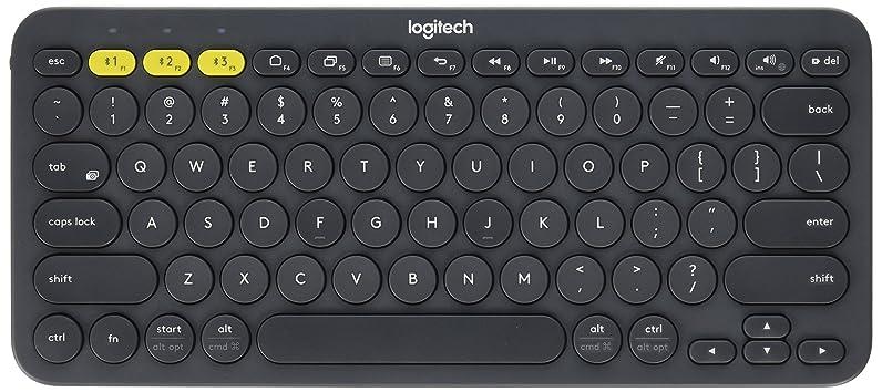 Logitech K380 Bluetooth Keyboard (Dark Grey) - 920-007558