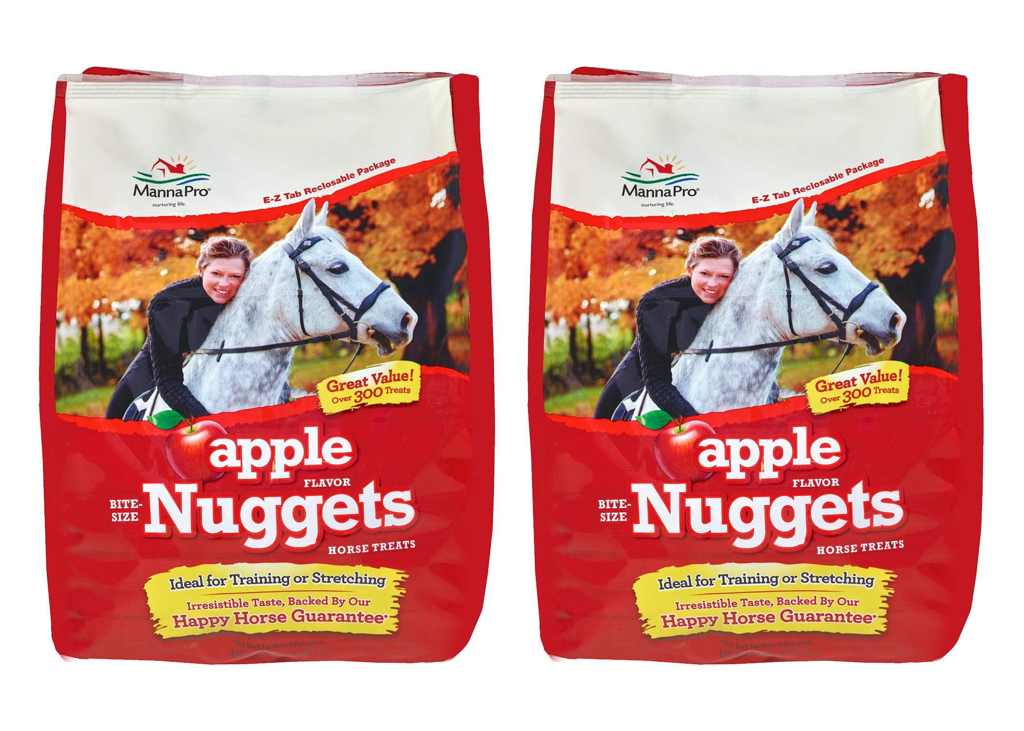 Manna Pro Horse Treat Multipack Apple, 4 Pounds (Pack of 2) by Manna Pro