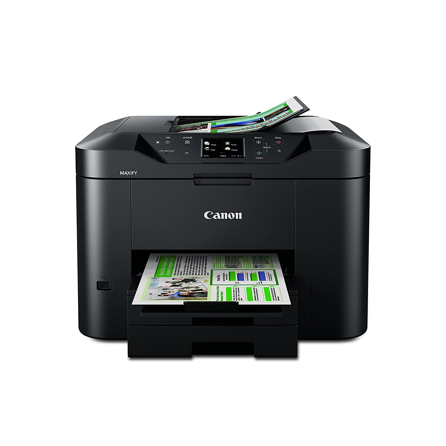 Canon MAXIFY MB Wireless fice All In e Inkjet Printer with