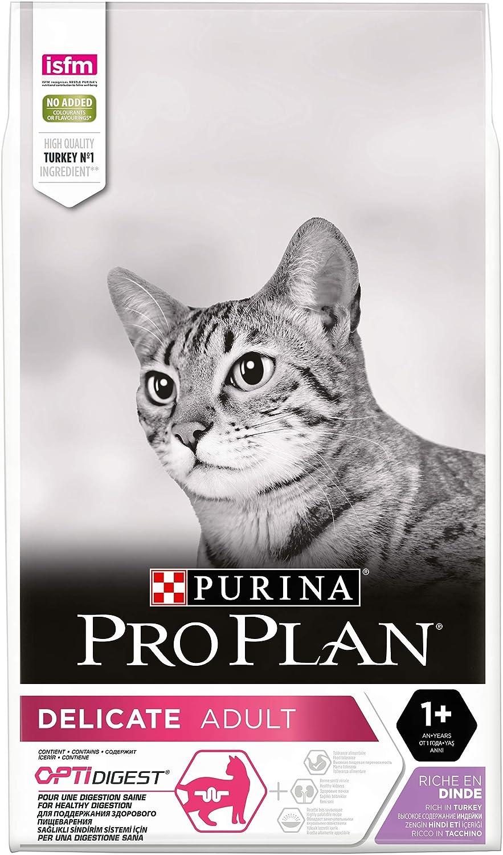Purina Pro Plan Delicate Turkey Comida para Gatos - 10000 gr: Amazon.es: Productos para mascotas