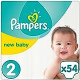 Pampers Premium Protection New Baby Windeln Gr. 2 (3-6 kg), 1er Pack (1 x 54 Stück)