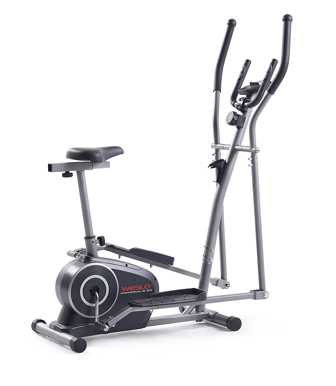 Weslo Momentum G3.2 - Bicicleta elíptica unisex, gris oscuro: Amazon.es: Deportes y aire libre