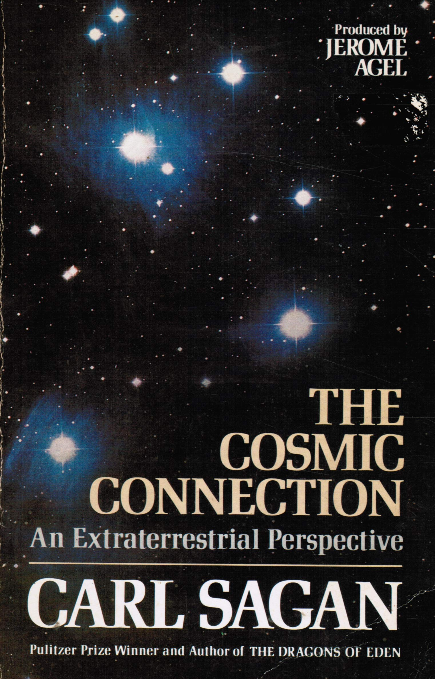 Cosmic Connection An Extraterrestrial Perspective By Carl Sagan