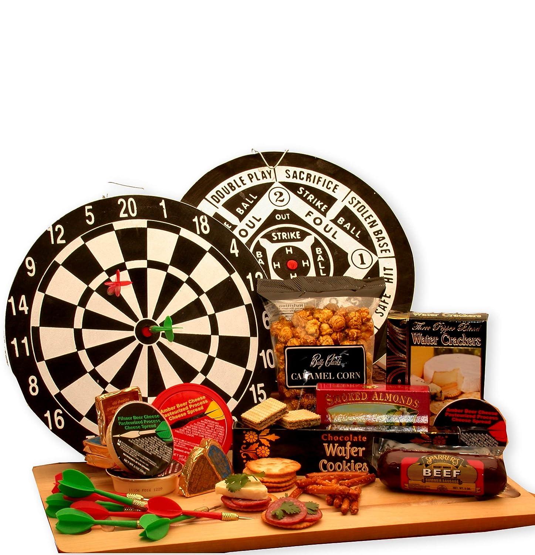 Gift Basket for Men MAN CAVE FUN Dart Board Set $7 FLAT SHIPPING