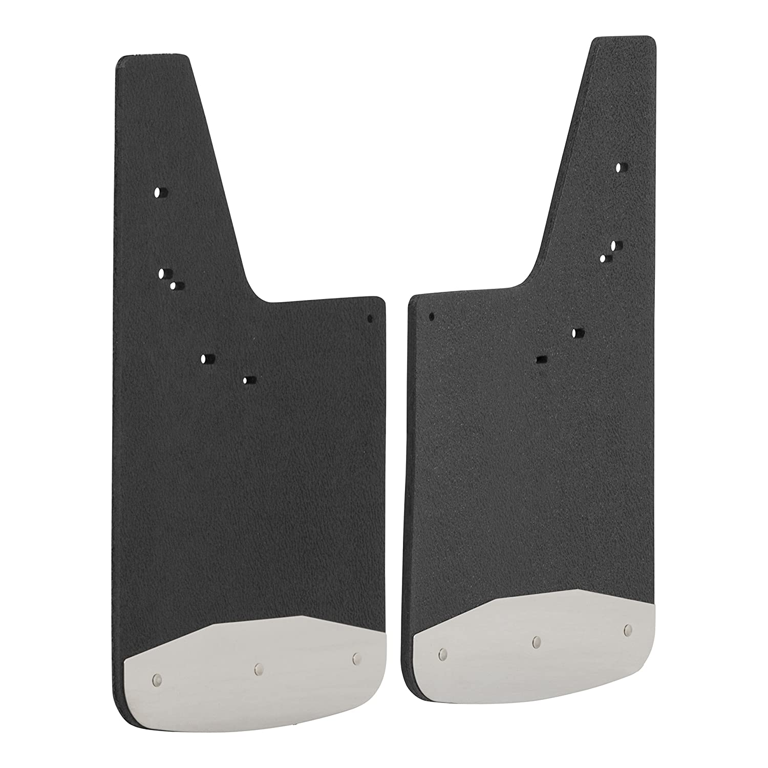 LUVERNE 250420 Front or Rear Textured Rubber Mud Guards Black 12-Inch x 20-Inch Select Ford F-150 Lincoln Mark LT