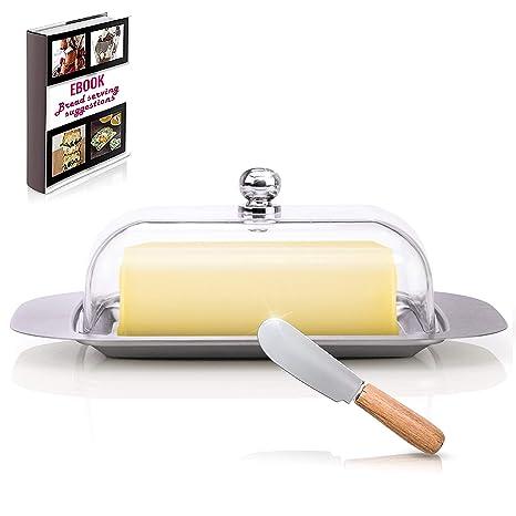 Amazon.com: Cubiertos para mantequilla (Cocina – Acero ...