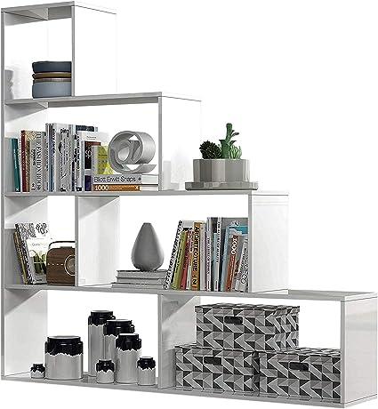 Habitdesign Estantería Decorativa, Librería Salon, Modelo ...