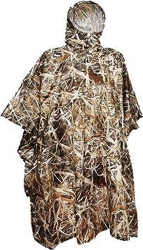 Rain Poncho Poncho Loogu impermeable de camuflaje para usar de refugio para al aire libre.