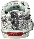 See Kai Run Girls' Robyne Sneaker, Silver