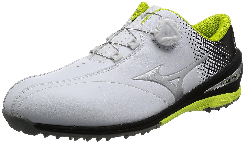 [ミズノ ゴルフ] ゴルフシューズ ネクスライト 004 ボア B01MRL1PDA 26.5 3E ホワイト/ブラック