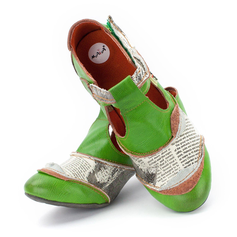 TMA Shoes 6716 - Cerrado de Piel Lisa Mujer: Amazon.es: Zapatos y complementos