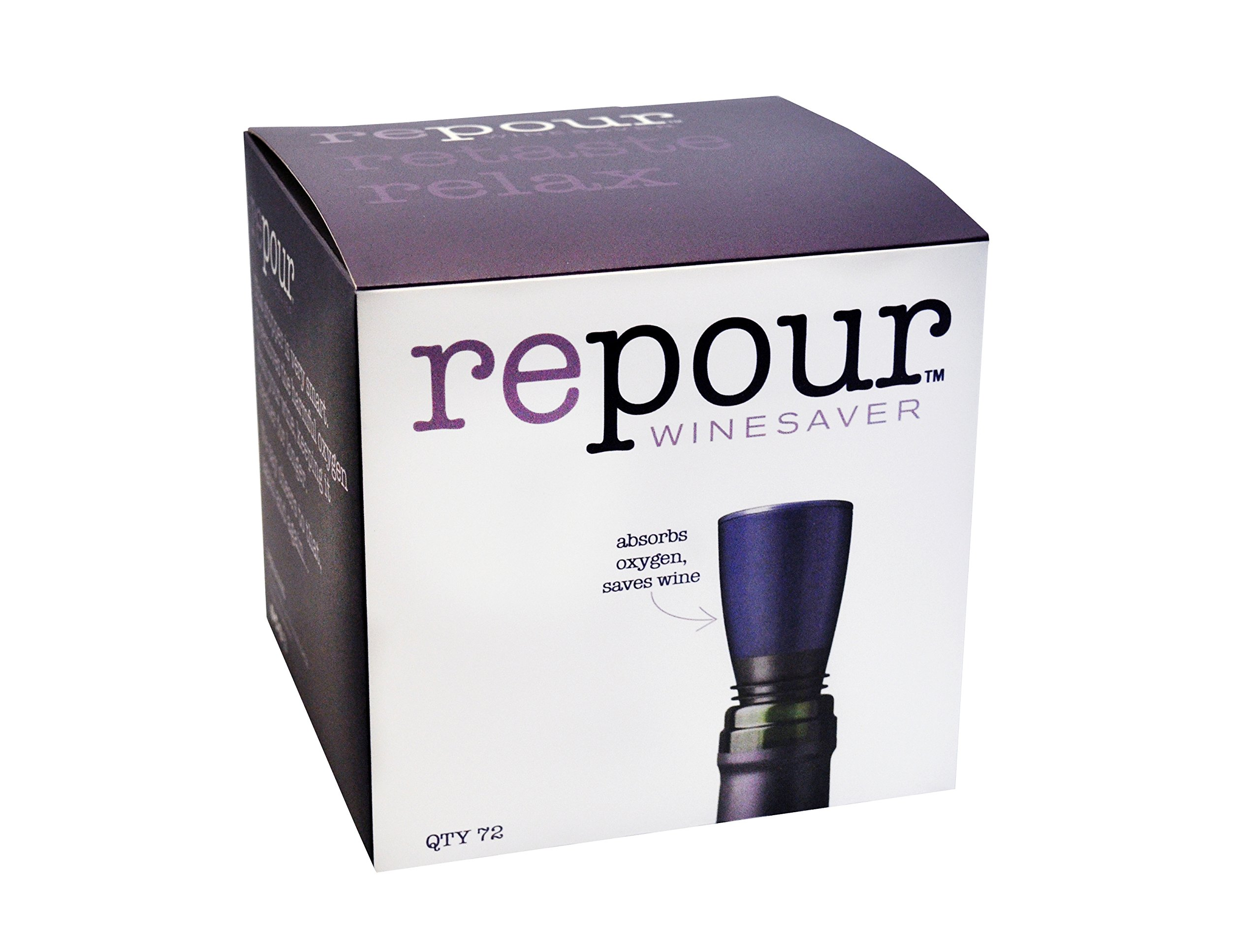 Repour Wine Saver (72 Pack) by Repour