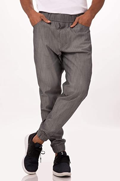 enjoy cheap price buy best high fashion Chef Works Men's Jogger 257 Chef Pants