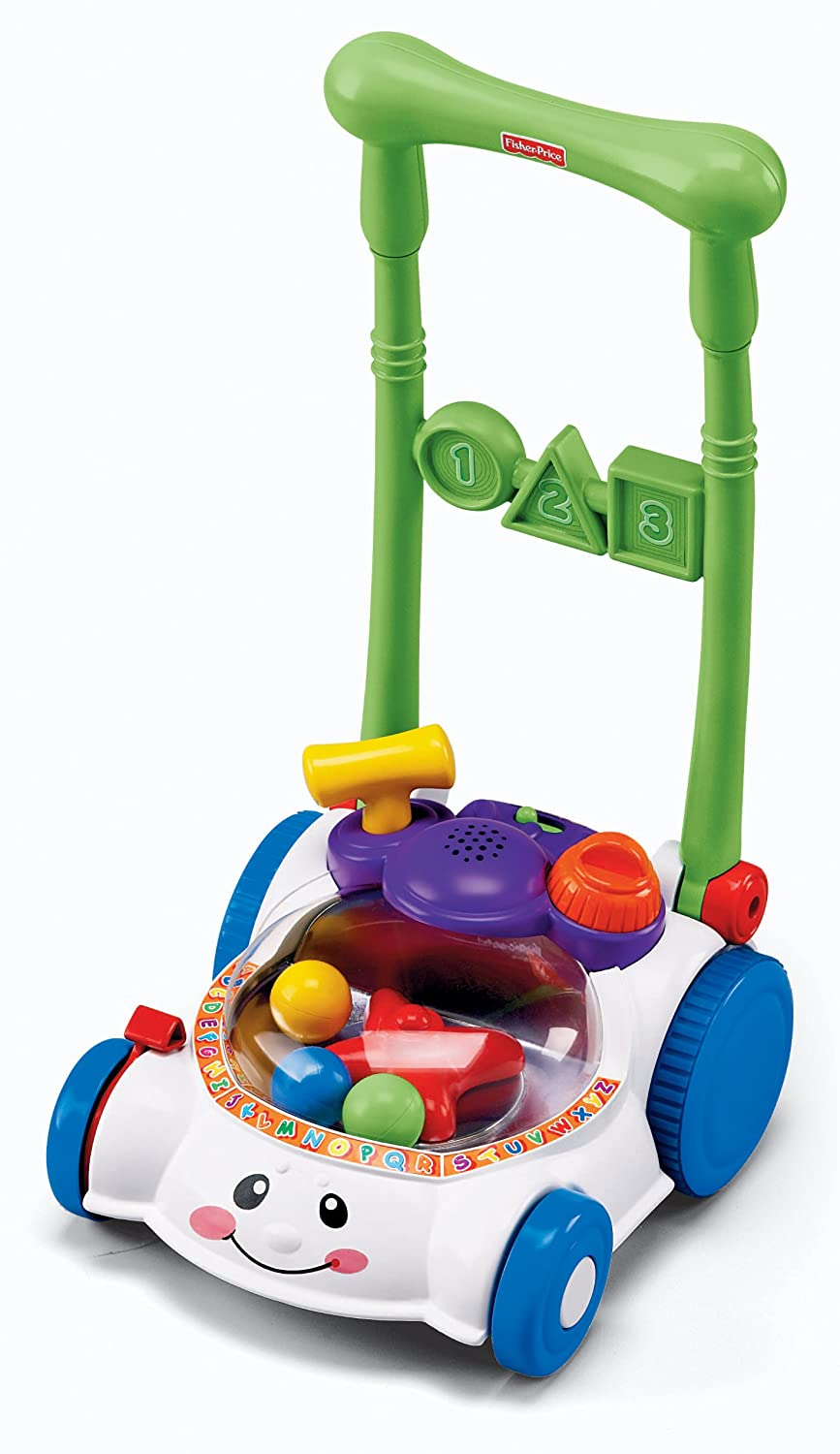 Amazon.com: Fisher-Price Laugh & Learn Learning Mower: Toys & Games
