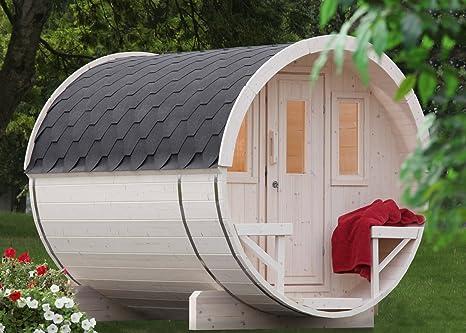 Weka 198 Premium de sauna Barril Lahti, incluye – Estufa para sauna (9 kW