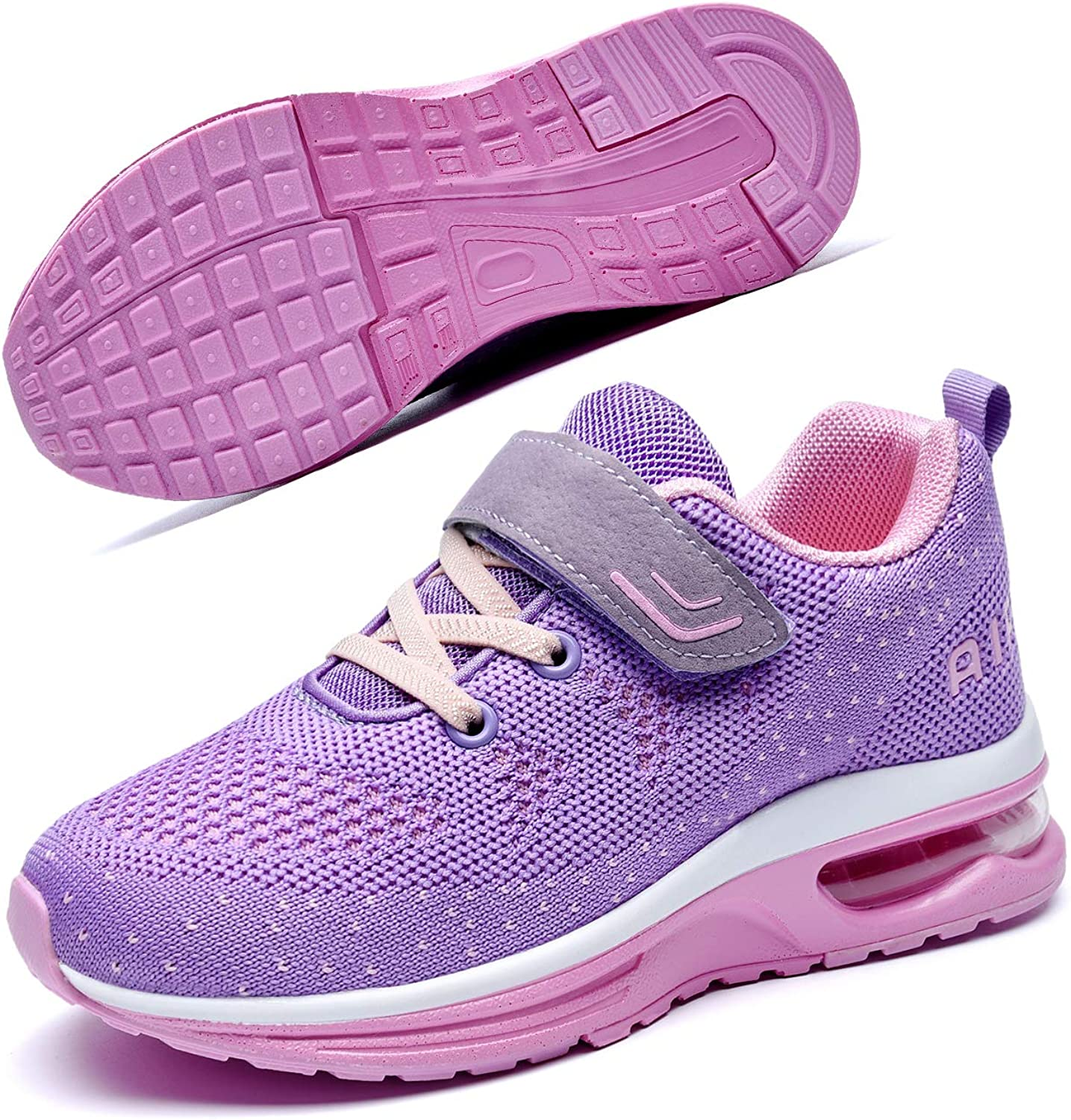 6.5, Pink Kids Sneakers Boys Girls Breathable Lightweight Comfort Running Shoes Outdoor Sneakers Athletic Fashion Shoes Toddler