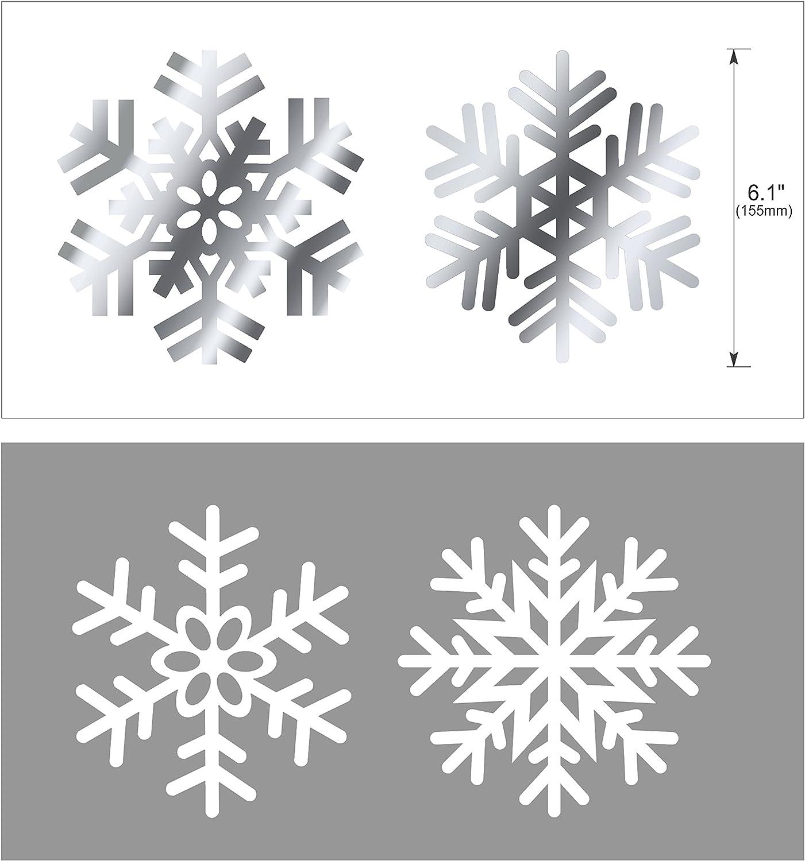 Schneeflocke Spiral Wirbel Schneeflocken H/ängedeko Deckenh/änger Spiral Girlanden f/ür Winter deko Frozen deko Geburtstag HOWAF 30 teilig Set Schneeflocke deko