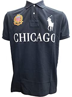 RALPH LAUREN Polo Mens Custom Fit Blackwatch Polo Shirt at Amazon ... 5140b39a58e