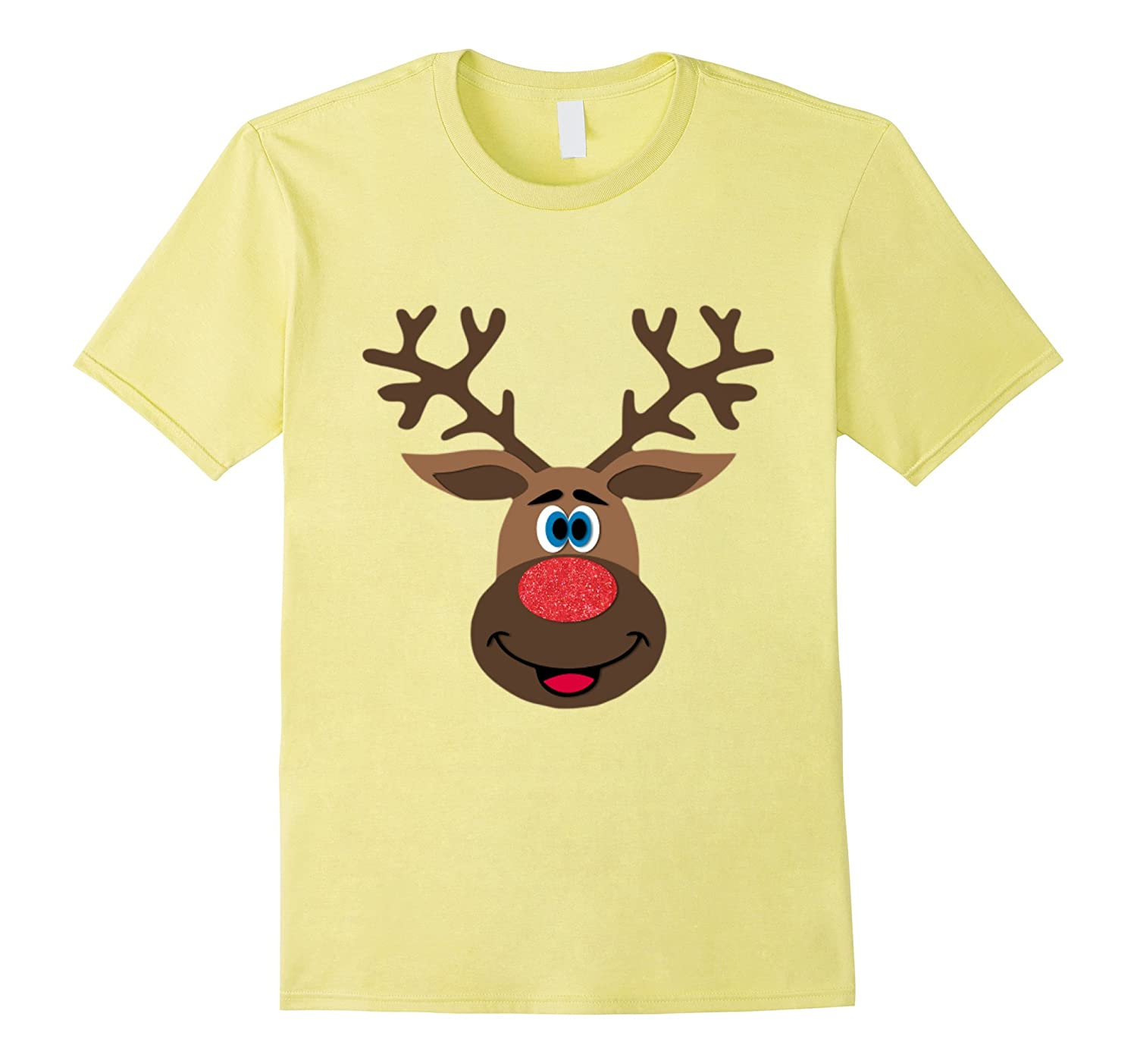 Reindeer Antlers Shirt Family Matching t-shirt Group Photo-CL
