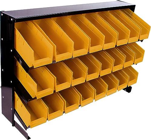 Stalwart 24 Bins Tool Storage Rack, Model 75-A0003