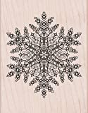 Hero Arts Rubber Stamps Dazzling Snowflake Woodblock Stamp