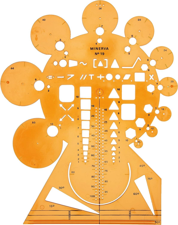 Minerva Spec 19 Circumference Tracer n/° 19 Large Orange Model