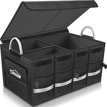 Oasser Trunk Organizer Cargo Multi Compartments Storage Organizer
