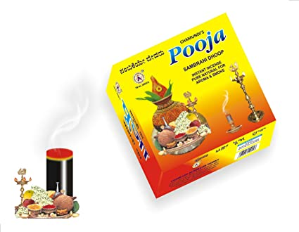 Pooja Sambrani Dhoop Sticks - 18 Pieces x 8 Packets: Amazon in: Home