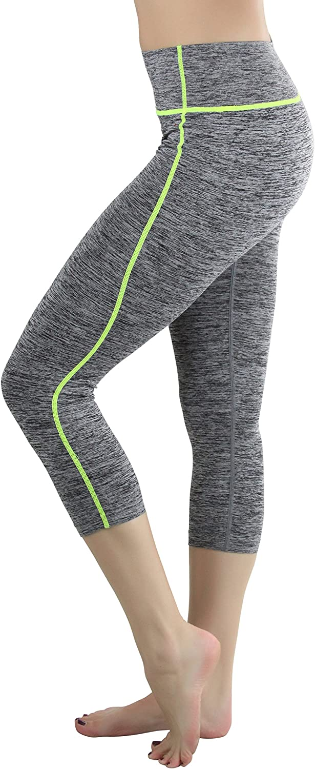 ToBeInStyle Womens Space Dye Active Capris