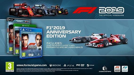F1 2019 - Anniversary Edition - Xbox One - Xbox One [Importación inglesa]: Amazon.es: Videojuegos