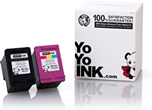 YoYoInk Remanufactured Ink Cartridge Replacement for HP 901XL 901 XL High Yield (1 Black, 1 Color; 2 Pack)