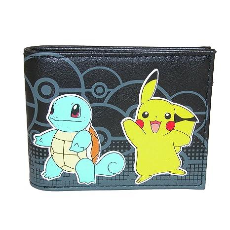 4063863e66 Carattere ufficiale Pokemon Multi nero portafoglio Bi-fold - nuovo Nintendo
