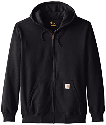 691732f6a Amazon.com: Carhartt Men's Size Rain-Defender Paxton Heavyweight Hooded Zip  Front Sweatshirt-Tall: Clothing