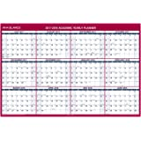 "AT-A-GLANCE Academic Wall Calendar, July 2017 - June 2018, Erasable, 32"" x 48"", Vertical / Horizontal, Reversible (PM36AP28)"