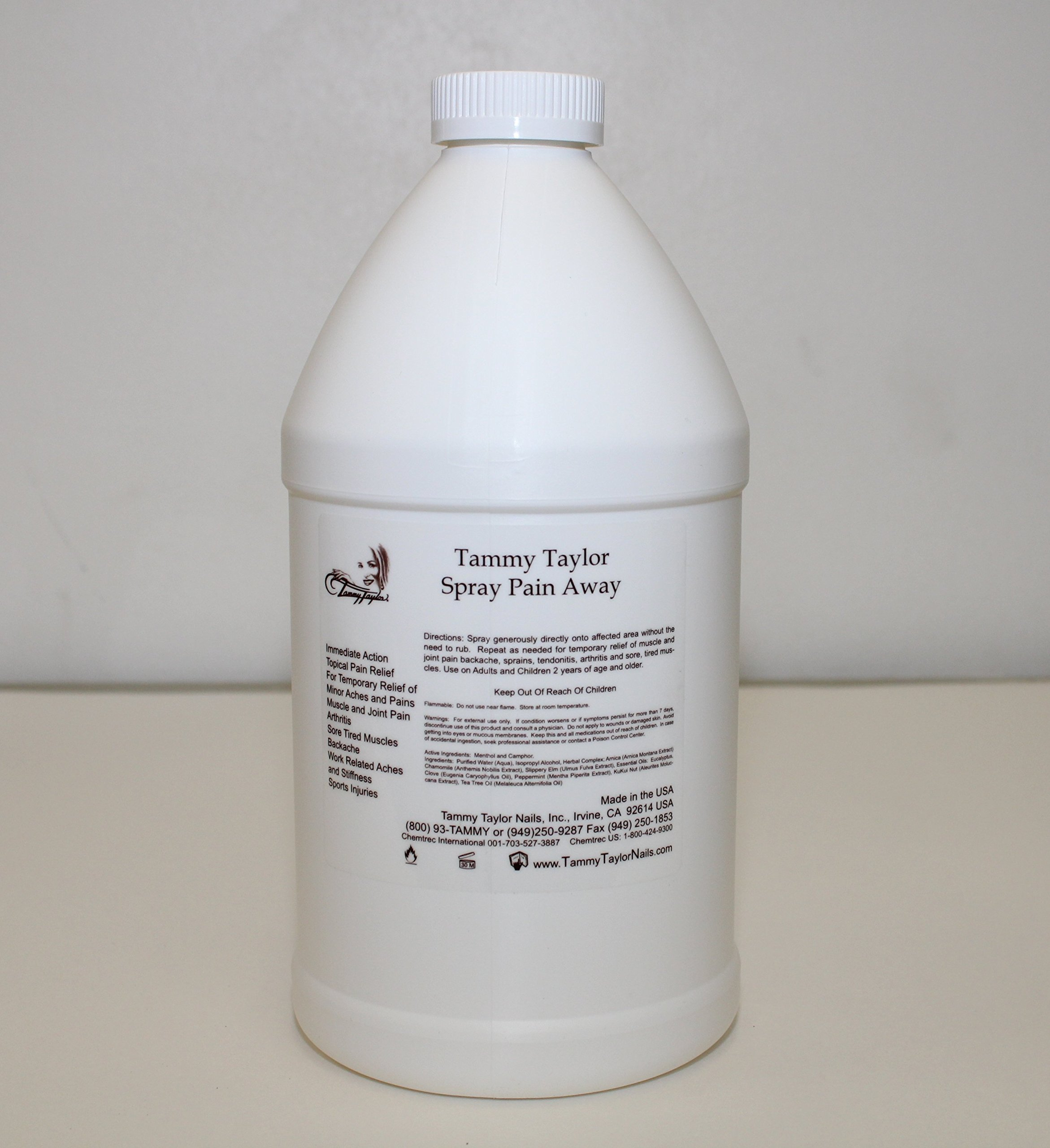 Tammy Taylor Pain Away Refill 64oz by Tammy Taylor
