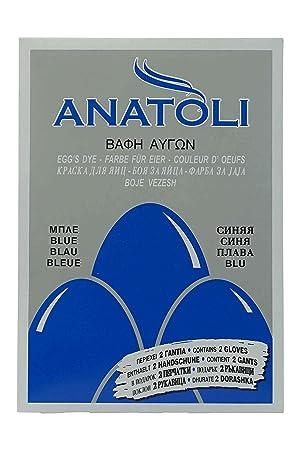 Anatoli Eierfarbe Aus Griechenland Blau 3g Lebensmittelecht Blaue