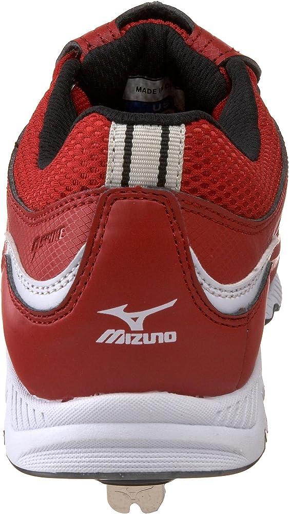 mizuno shoes size table feet metal 40