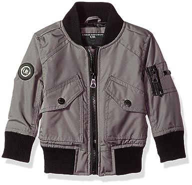 b1fcd4198655 Amazon.com  Urban Republic Baby Boys Ballistic Bomber Jacket  Clothing