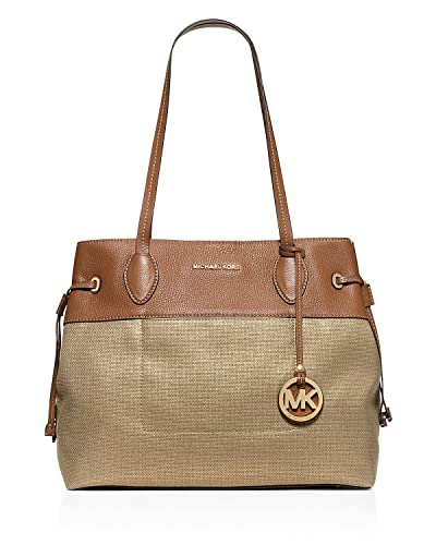 36d064fba81a ... new style michael michael kors marina north south large drawstring tote  gold f263a 9b2d3