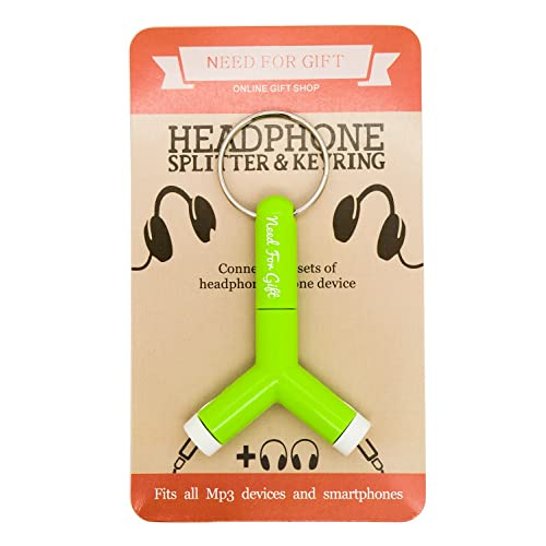 travel accessory headphone splitter for sharing your music great office for kids teenager him