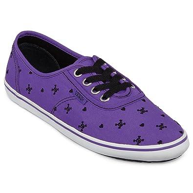 Vans Cedar Skulls Embroidery Purple Black 38 N8t6S0Y