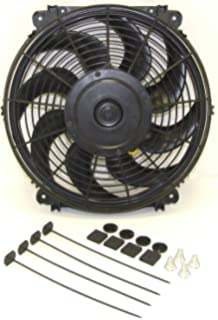 Amazon.com: Hayden Automotive 3680 Rapid-Cool Thin-Line Electric Fan on electrical switch diagram, flex-a-lite electric fan wiring diagram, automotive electric fan wiring diagram, electric radiator fan wiring diagram, hayden electric fan motor, electric motor wiring diagram, hayden electric fan radiator, blue computer fan wire diagram, hayden electric fans install,